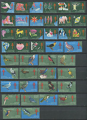 South Africa 1966 & 1967 TB seals (41)
