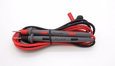 Fluke TL71 10A Hard Point Test Leads Set With Tip Protector Cover 30Days Return