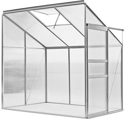 Garden Aluminium Greenhouse  Stable Robust Frame Outdoor Flower Protection