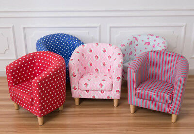 Kids Children's Tub Chair Armchair Sofa Seat Stool Fabric Upholstered