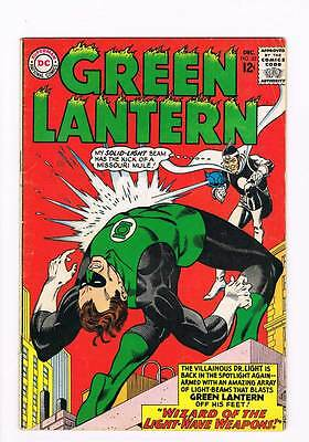 Green Lantern # 33 Wizard of the Light-Wave Weapons ! grade - 4.5 scarce book !!