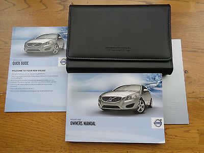 Volvo V60 Owners Handbook/Manual and Wallet 10-13