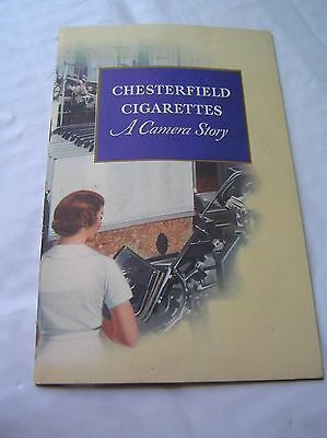 Chesterfield Cigarettes A Camera Story Ligget  & Myers Vintage 1937 Advertising