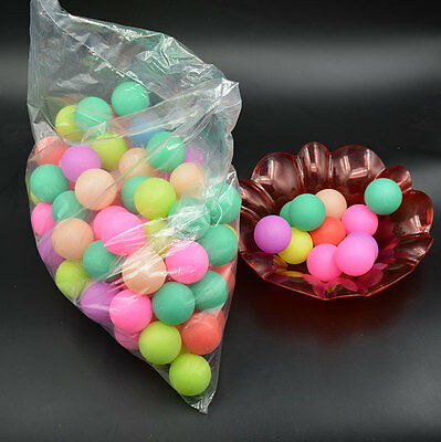 50pcs Ping Pong Ball Beer Table Tennis Lucky Dip Gaming Lottery Washable Colour
