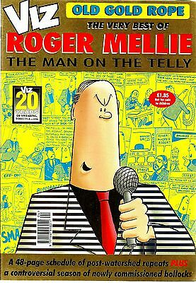 Viz Old Gold Rope Edition The Very Best Of Roger Mellie Nm Condition