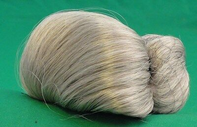 MOHAIR SI LVER--  GRAY LOOKING  WIG -11 Playhouse -GOOD FOR PEDDLER  OR GRANNY