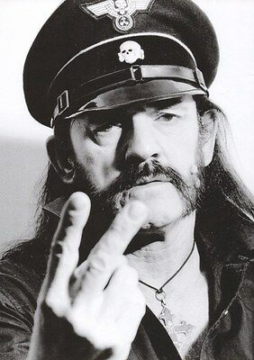 Motorhead - Lemmy - F$%k You - A4 Photo Print