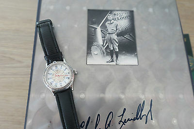 longines..Charles A.LINBERGH ...Set complet   AUTOMATIC.Angle Horaire .AVIATION
