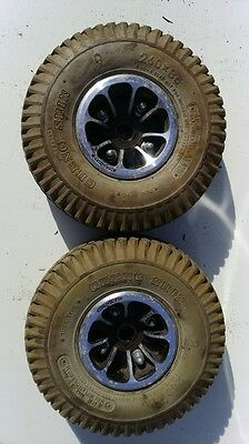 pride celebrity x4 rear wheels tyres mobility scooter parts 260 X 85 (10 X 3)