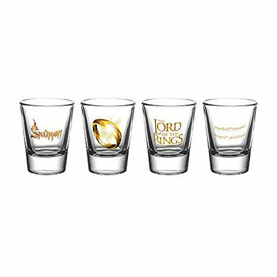 "GB Eye ""Lord of the Rings, Ring"" Shot Glasses, Multi-Colour NEW"