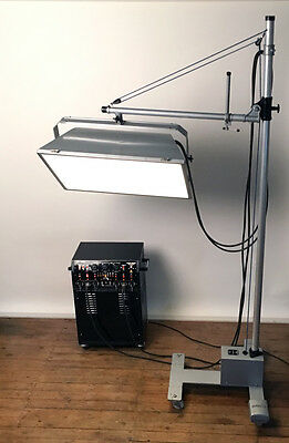 Complete Professional Studio Electronic Flash Lighting including stands.