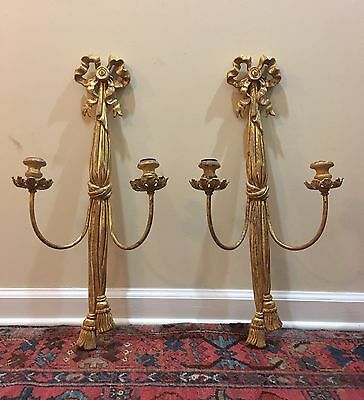 Italian Sconces (Pair)