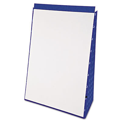 Tabletop Flip Chart Easel, Unruled, 20 x 28, White, 20 Sheets 24-022