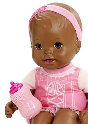 Little Mommy Darling Dancer Baby So New African American with Bottle NEW