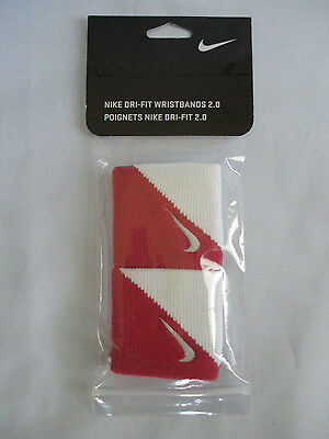 New in Pack NIKE Dri-Fit Wristbands 2.0 Pack of 2 Unisex