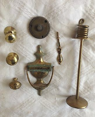 Reclaimed Vintage Style Knobs-Handles-Door Knocker-Bell Push & Candlestick ��