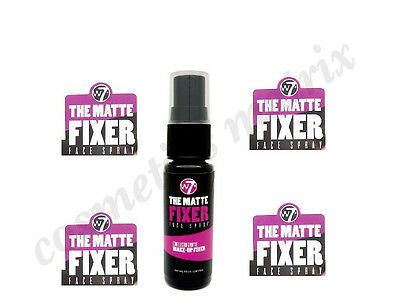 W7 Matte Fixing Fixer Setting Spray Face Make Up Long Lasting Hydrating Spray