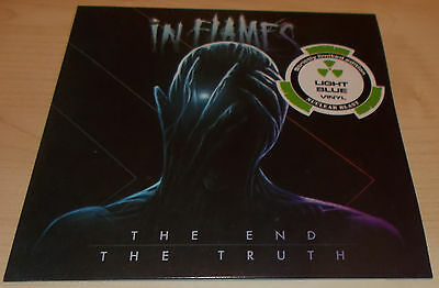 """In Flames-The End The Truth-2016 Light Blue Vinyl 7""""-Ltd To 300 Only-New"""