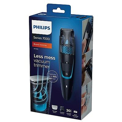 Philips BT7202 Series 7000 Beard & Stubble Trimmer with Vacuum System Cordless