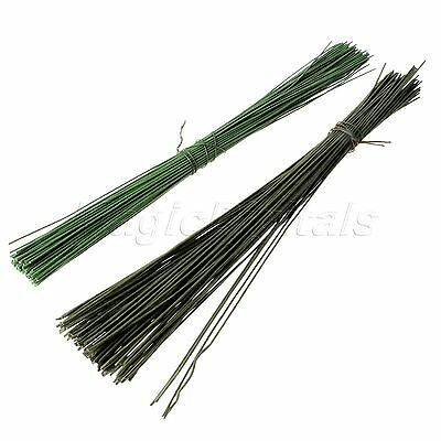 WHOLESALE 10/100pcs Green Florist Stub Stem Floral Wires Wholesale Best Choice