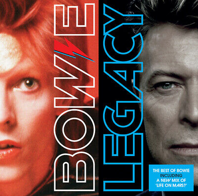 David Bowie : Legacy: The Best of Bowie CD (2016) ***NEW***