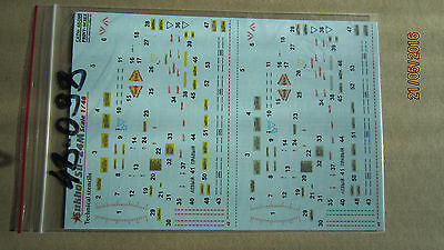 Decal for Sukhoi Su-24M Technical stencils   1/48  Print Scale # 48-098