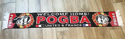 Manchester United Paul Pogba Scarf