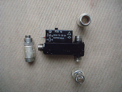 SPDT  REV16 Coaxial Antenna Relay 1296MHz 50Ohm QRO 1kWt 3 connectors, REW16