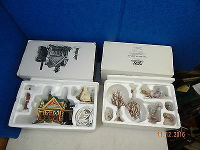 Dept 56 Steens Maple House & Tapping The Maples 7Pc Set