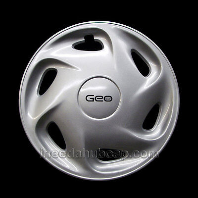 "Geo Prizm 14"" hubcap 1995-1997 - Professionally Reconditioned"