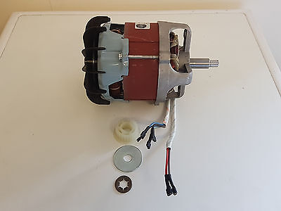 Belle Electric Motor Incl Fan & Pulley Gear Suits Mini Mix150 110v Cement Mixers