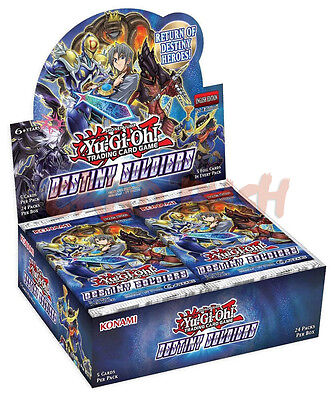 Yugioh Destiny Soldiers 1st Edition Factory Sealed Booster Box (24 packs)