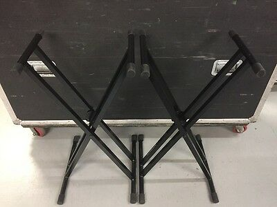 Ultimate Support 2-Keyboard Stand Package Set *Slightly Used*