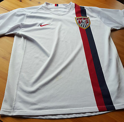 USA SOCCER SHIRT large USA nike football jersey U.S. Men's National Soccer home