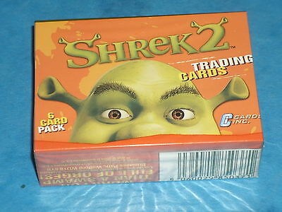 SHREK 2 Complete Set Of 72 Trading Cards Donkey,Princess Fiona,Ogre,Mike Myers