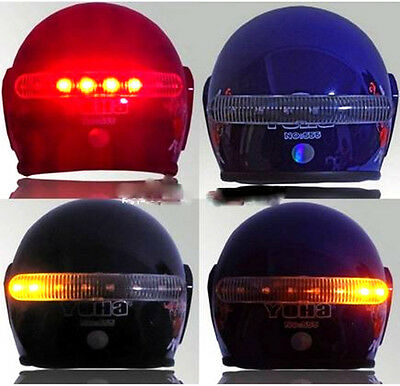 Frecce e stop a LED wireless per casco led brake and turn light helmet capacete