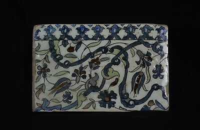 Early 16th Century Damascus Border Tile