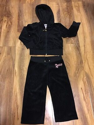 Juicy Couture Girls Tracksuit Size XS, NEW