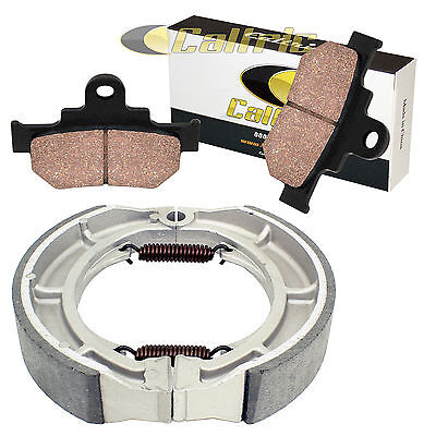 Front Brake Pads & Rear Brake Shoes Fit Suzuki Ls650 Boulevard S40 2005-2016