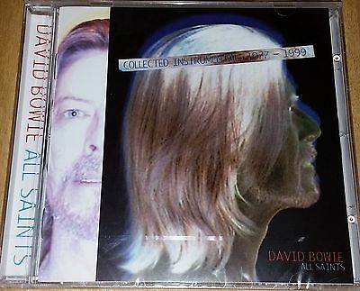 David Bowie,All Saints Collected Instrumentals 1977-1999 New And Sealed CD