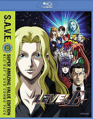 Level-E: The Complete Series (Blu-ray/DVD) BRAND NEW SEALED