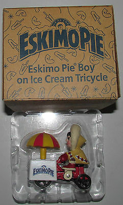 Ertl Eskimo Pie Boy and Ice Cream Tricycle Cold-Cast Figure and Die-Cast Metal