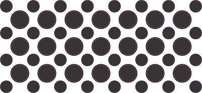53 Black Camera Dots Webcam Cover Privacy Sticker Lens Covers Stickers