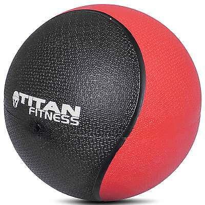 Titan Fitness 4 - 20 lb Weighted Medicine Ball Rubber Muscle Driver Sport