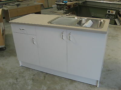 Australian Made Kitchen Cabinet,Laminated Top 1500w,Laundry,Cupboard,sink,drawer
