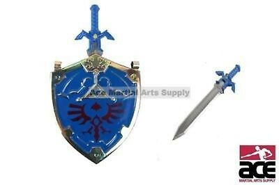 Legend of Zelda Twilight Princess Link Master Sword & Hylian Shield Wall Hanger