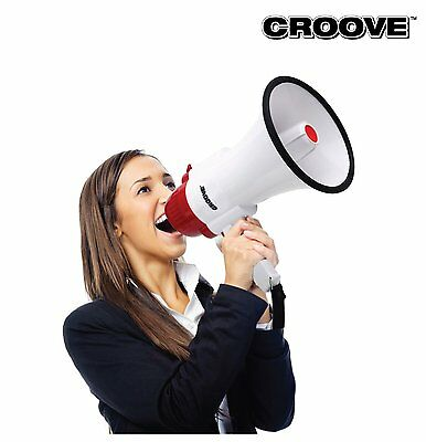 Professional Megaphone Bullhorn Siren Cheering Handheld Loud Speaker Amplifier