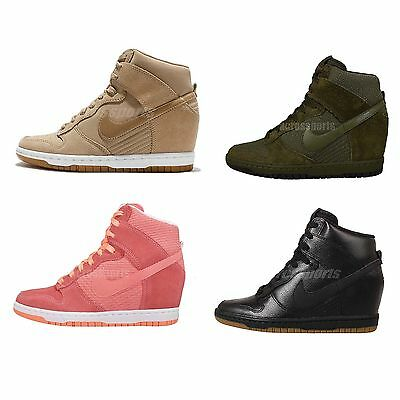 Wmns Nike Dunk Sky Hi Essential NSW Womens Wedges Casual Shoes Sneakers Pick 1