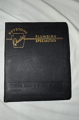 1940 KEYSTONE BRASS & RUBBER CO. Catalog + 3 Philadelphia PA. Plumbing