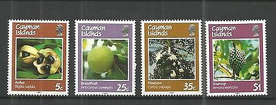 Cayman Islands 1987 Fruits MNH